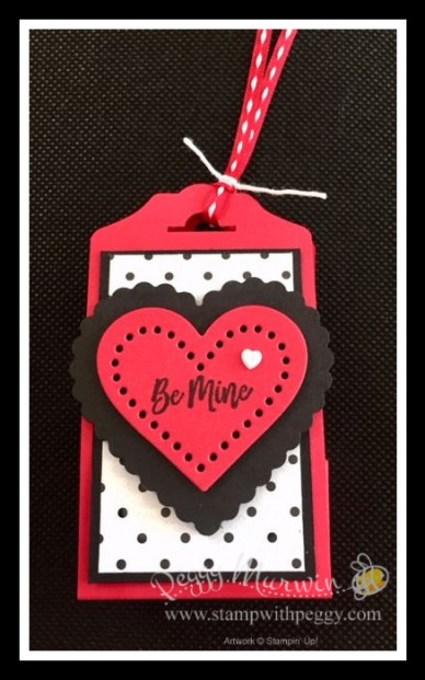 Valentine Keepsake Stamp Set, True Love Designer Paper, Heart Punch Pack, Fancy Tag Topper Punch, Valentine Treat, Stamp with Peggy