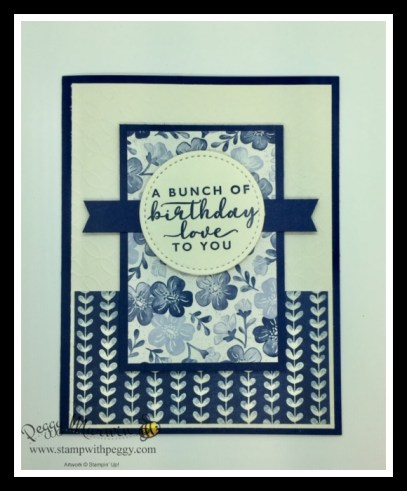 Boho Indigo Product Medley, Stitched Shapes Dies, Cabin Fever Stamp Camp, Stamp with Peggy