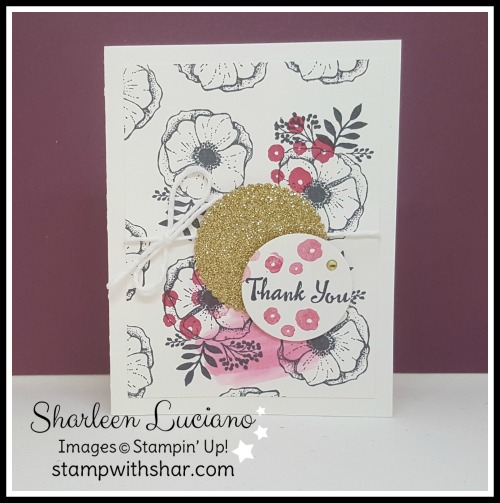 Amazing You Thank You Card Stampin' Up!