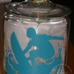 Surf's Up – Sporty Surfer Cookie Jar