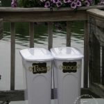 Trashy-chic – decorative recycle bins