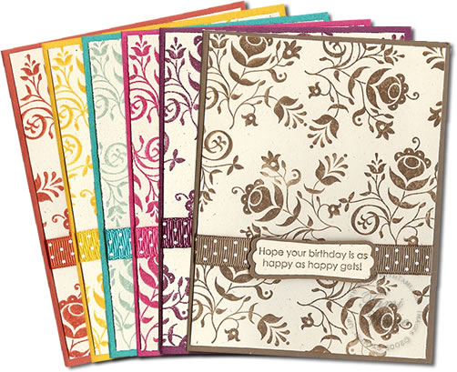 2009-2010 Stampin' Up In colors