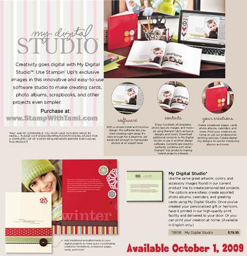Stampin' Up My Digital Studio Digital Scrapbooking