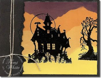 Stampin Up House of Haunts