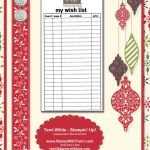 My Digital Studio – Dear Santa Wishlist