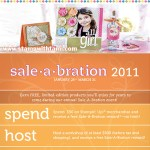 2011 SALE-A-BRATION is here! FREE STAMPS!!