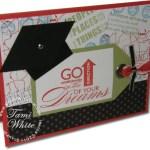 Travel Log Graduation Card