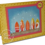 Summer Splash Surf boarding Card