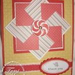 Brad box Bonnet and Pinwheel Card