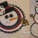 VIDEO TUTORIAL: Telescoping Snowman Card
