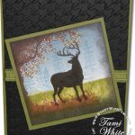Nature Silhouettes Deer Card – Part 2