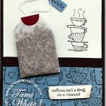 Morning Cup Tea Bag Card