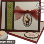 VIDEO TUTORIAL: Tealight Easel Christmas Card WOW!