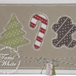 Holiday Framelits fun with Ribbon