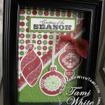 PROJECT: Ornament Keepsakes Decor Frame