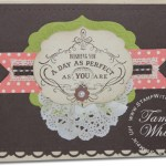 VIDEO TUTORIAL: Vintage Verses Card