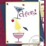 CARD: TGIF Happy Hour Card fun