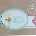 CARD: Oh, Hello Card