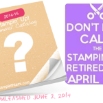 NEW Stampin Up Catalog, Retirement Lists and Pre-Order Info