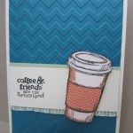 CARD: Perfect Blend Coffee Cup Card