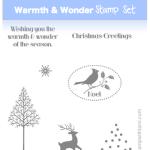 WIN: Free Warmth & Wonder Stamp Set ends Sunday