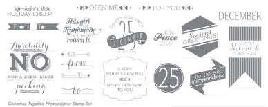 christmas tagables stamp set stampinup