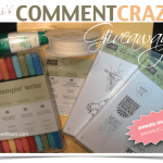 WIN! New Comment Craze Give-away thru Jan 22