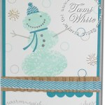 CARD: Snow Day Snowman