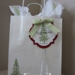 Lovely as a Tree Gift Bags & Instagram