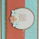 CARD: Thank You from Petite Petals Stamp Set