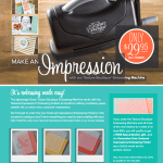 NEW: Sizzix Texture Boutique Embossing Machine