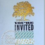 CARD: Lovely as a Tree Invitation