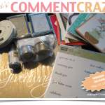 "WIN! Comment Craze ""Blog Candy"" thru May 22"