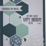 CARD: Six Sided Sampler birthday