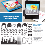 NEW: Calling All Heroes Photopolymer Clear Stamp Set