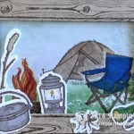CARD: Over the top Great Outdoors Camping
