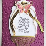 CARD: Live Simply, Love Generously