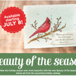 "NEW: Beauty of the Season ""Sneak Peak"" stamps available"