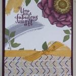 CARD: Blended Bloom Flower Wow