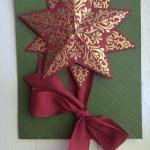 CARD: Bright & Beautiful Gold Stars