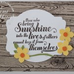 VIDEO: Bringing Sunshine into your life