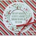 CARD: Wondrous Wreath Christmas Card