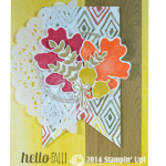 CARD: Hello Fall – For All Things