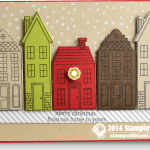 CARD: Holiday Homes in the Snow