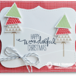 CARD: Happy Wonderful Christmas Trees