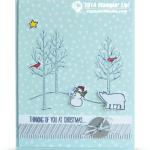 CARD: White Christmas Thinking of You – Part I