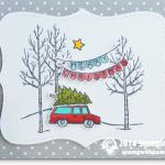 CARD: Christmas Vacation fun