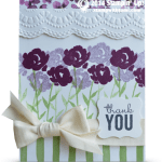 CARD: Painted Petals & Lotus Blossoms Thank You