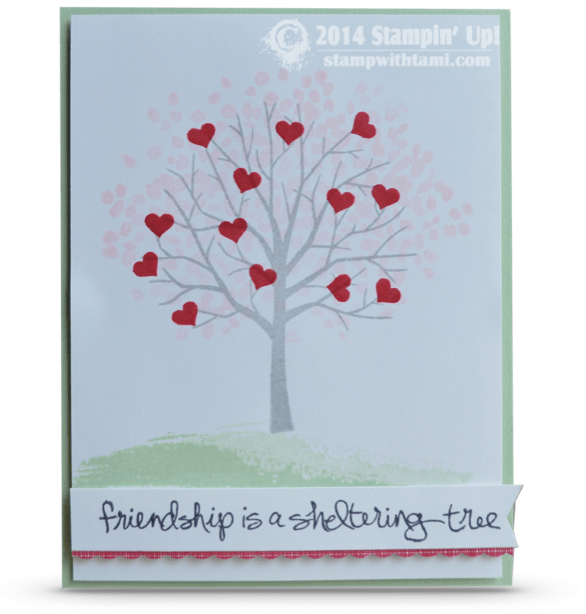 OCCASIONS Friendship Is A Sheltering Tree Valentine