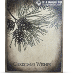 CARD: Ornamental Pine Glimmer WOW